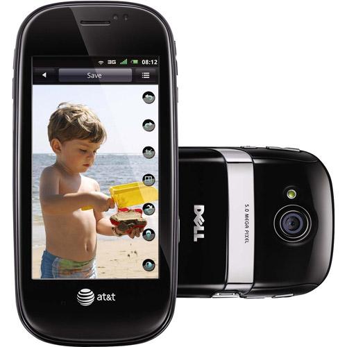 Dell Aero GSM Phone, Black (Unlocked)