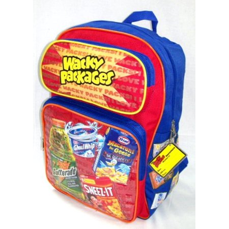 Wacky Packages Backpack - Wacky Bags