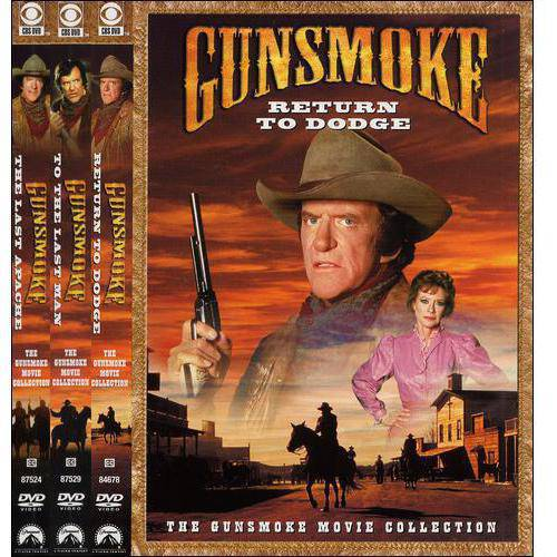 GUNSMOKE MOVIE COLLECTION (DVD) (3DISCS)
