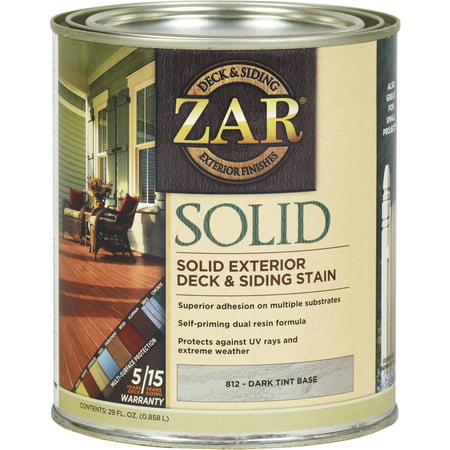ZAR Solid Exterior Deck & Siding Stain Flood Solid Color Stain