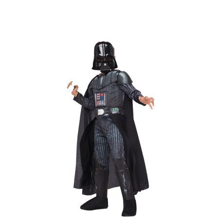 Star Wars Darth Vader Boys' Deluxe Costume w/ Mask, Large (8-10 Years)](Darth Vader Costumes)