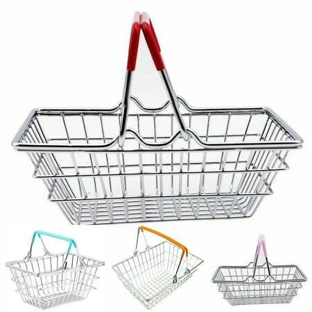 Bluelans Children Miniature Metal Supermarket Shopping Basket Pretend Role Play Toy Gift Specifications:Simulation supermarket shopping basket is great for kids children pretend role play game toys.Multi-purpose toy for kids game, food presentation basket, supermarket shopping basket or storage basket.Kids preschool shopping game props for children developmental toy. Type: Shopping Basket ToyMaterial: AlloyFeatures: Miniature Size, Simulation, Pretend Play ToySize: 14.5cm x 10.5cm x 6cm/5.71  x 4.13  x 2.36  (Approx.)Notes:Due to the light and screen setting difference, the item's color may be slightly different from the pictures.Please allow slight dimension difference due to different manual measurement.Package Includes:1 x Shopping Basket Toy (Fruit Not Included)