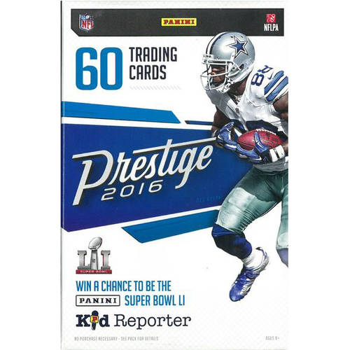 16 Panini Prestige Football Hanger Box