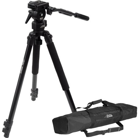 Davis   Sanford 64  Provista Grounder Gr Professional Video Tripod With Fm18 Head   Case