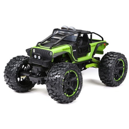 New Bright 4x4 1:10 Scale Radio Control Jeep Rock Crawler 2.4GHz 9.6V