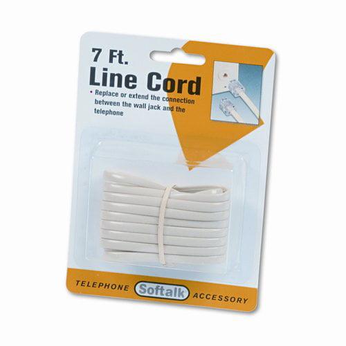 Softalk, LLC Telephone Extension Cord (Set of 3)