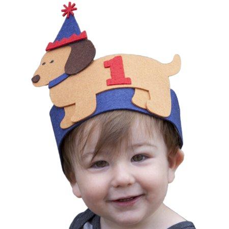 Mud Pie Baby-Boys Infant Puppy Birthday Hat, Blue, One Size](Mudpie Halloween)