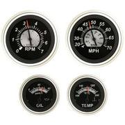 SeaStar Solutions Black Sterling 50-MPH Speedometer Kit