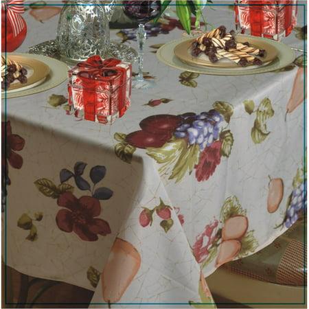 Fleur De Lis Living Wolfforth Fruits Vintage Design Printed Tablecloth (Bsa Fleur De Lis)