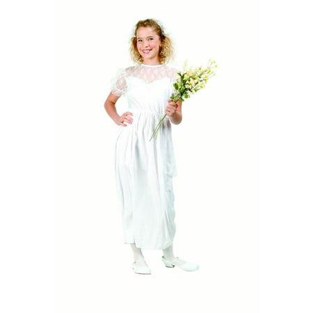 Pretty Bride Costume Child