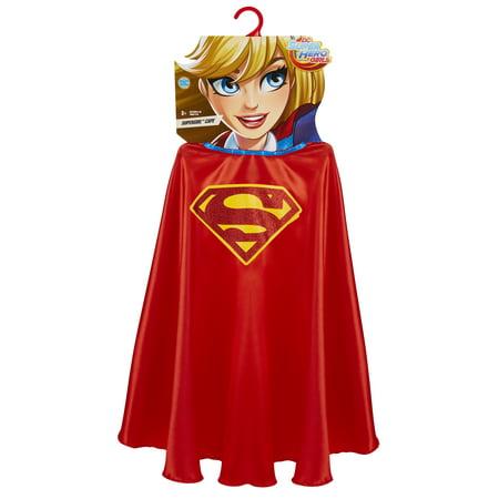 DC Girls Super Hero Supergirl Cape