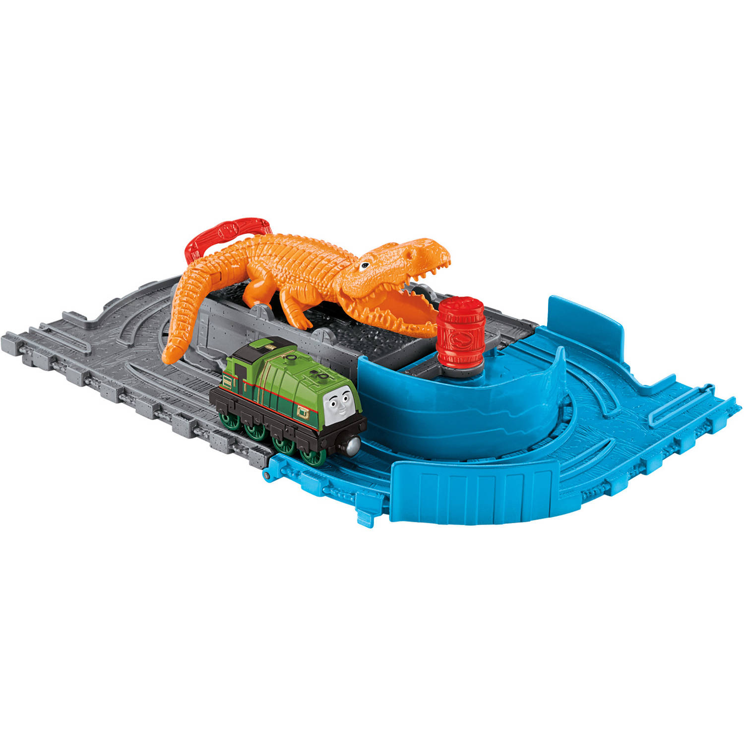 Fisher-Price Thomas and Friends Take-n-Play Gator's Chase and Chomp