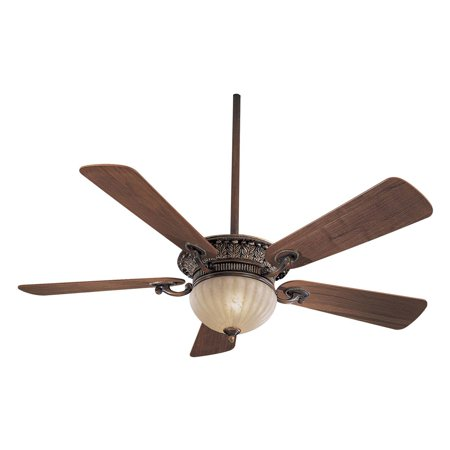 - Minka Aire F702-BCW Volterra 52 in. Indoor Ceiling Fan - Belcaro Walnut