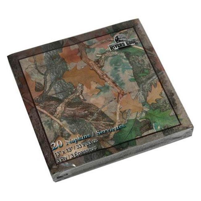 Rivers Edge Products 631 Napkins - Camo