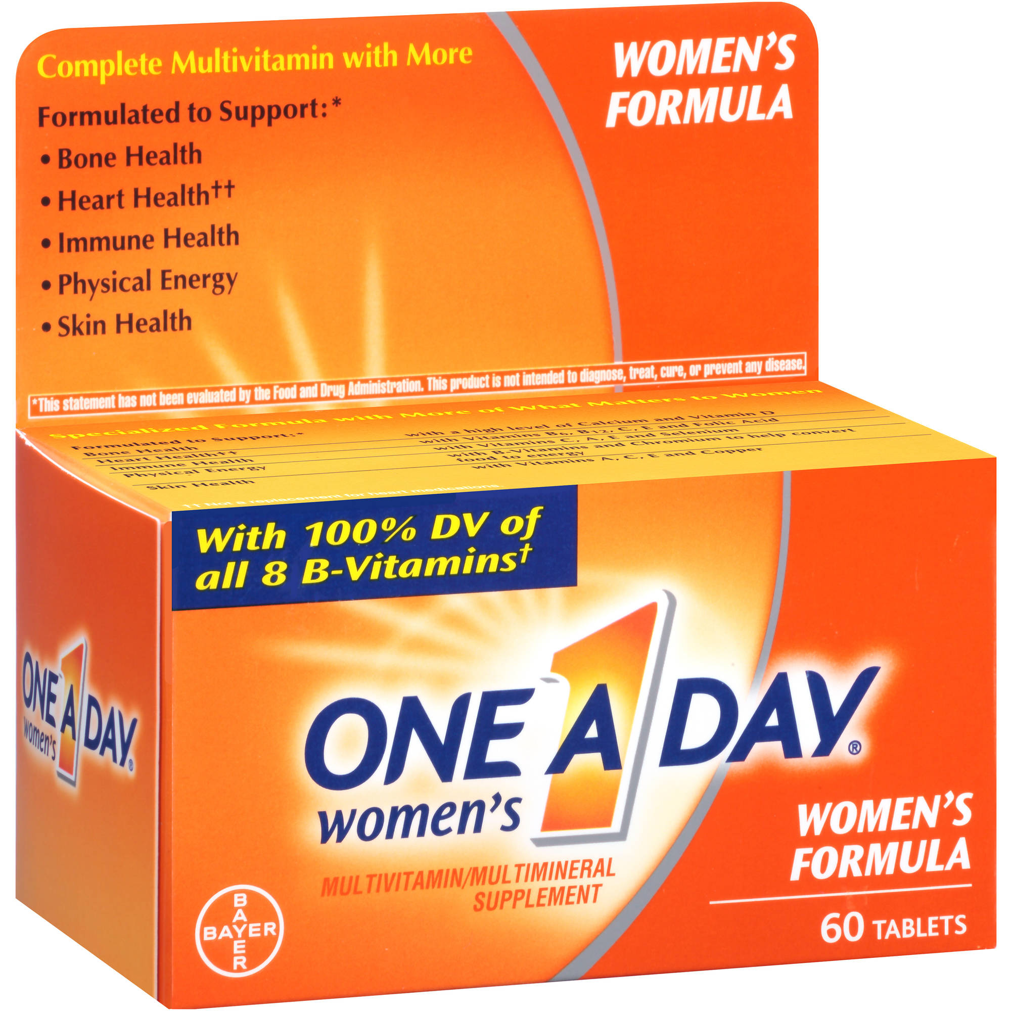 One A Day Women's Multivitamin/Multimineral Supplement Tablets, 60 count
