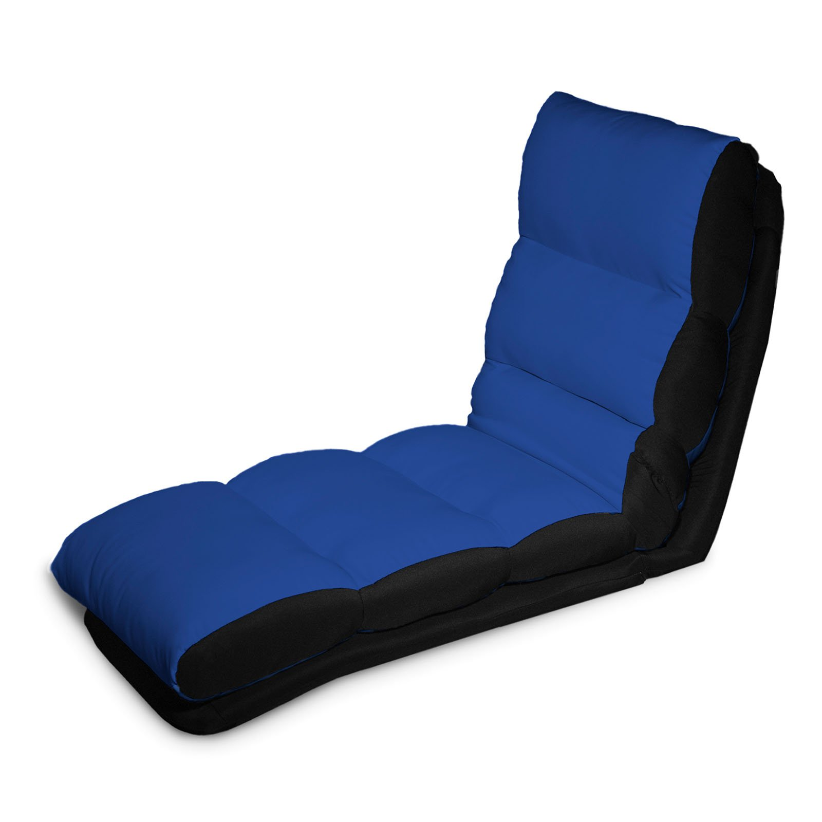 Lifestyle Solutions Turbo Convertible Chaise Lounger   Blue