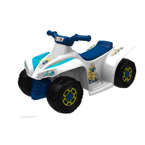 Dynacraft Minions Little Quad 6V Battery Powered ATV