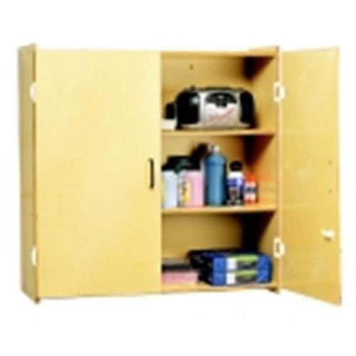 Childcraft Locking Wall-Storage Cabinet, 3 Shelves by Childcraft