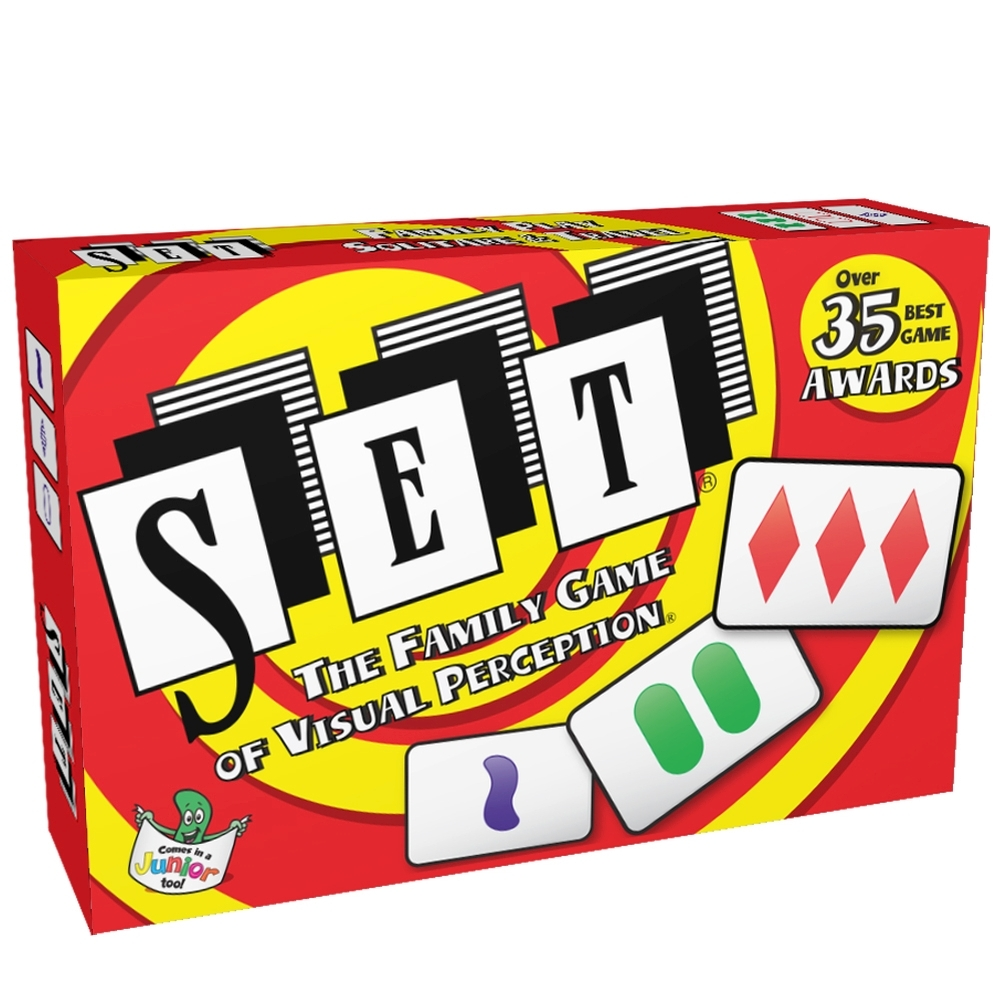 Set The Family Card Game of Visual Perception