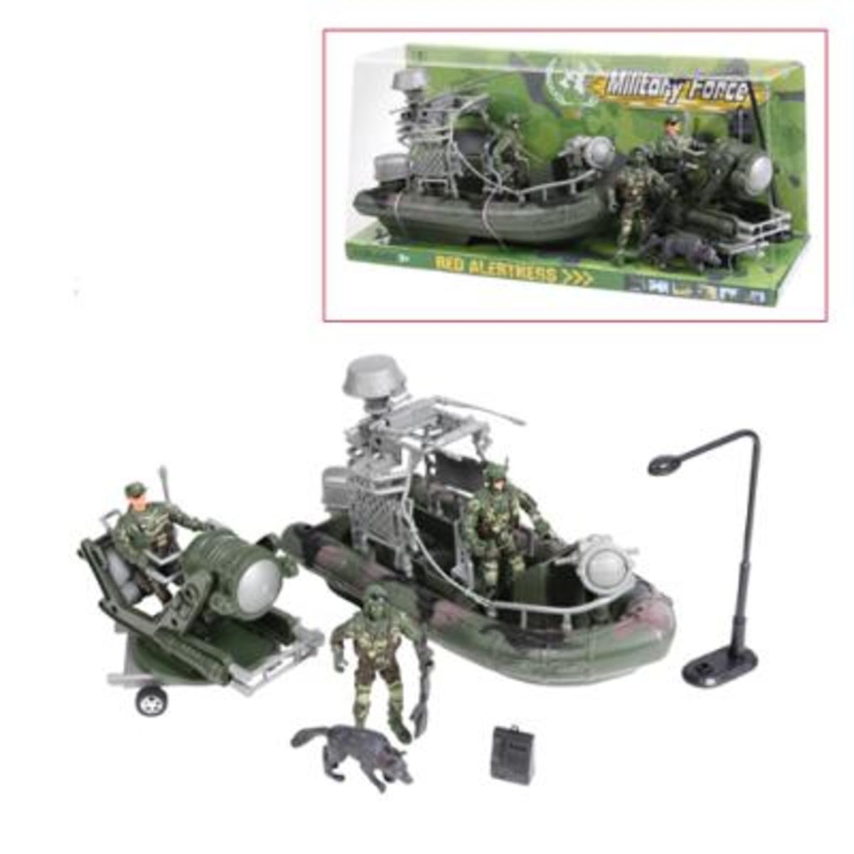 Military Force Amphibius Play Set