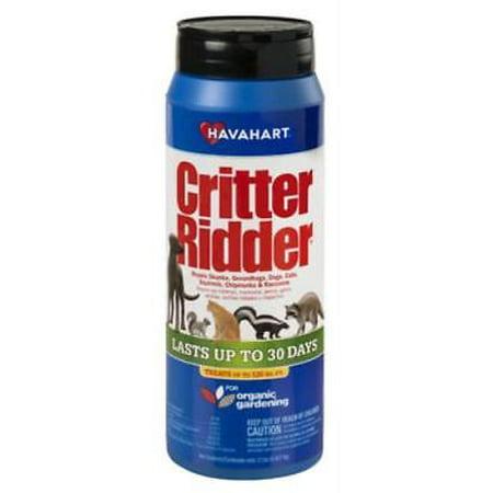 Critter Ridder 2 LB Animal Repellent Granules Repels Skunks