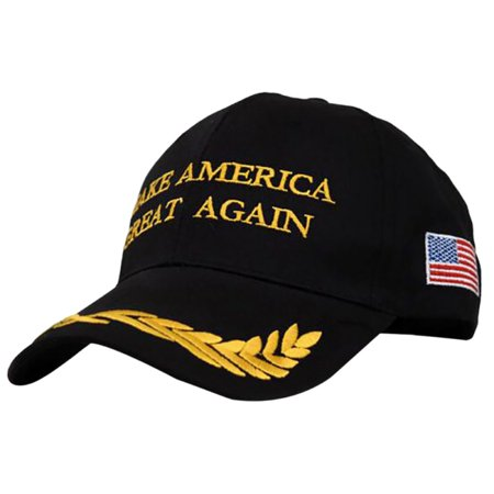 Make America Great Again Hat MAGA Donald Trump Hats American Flag Black Baseball Cap for Women Men