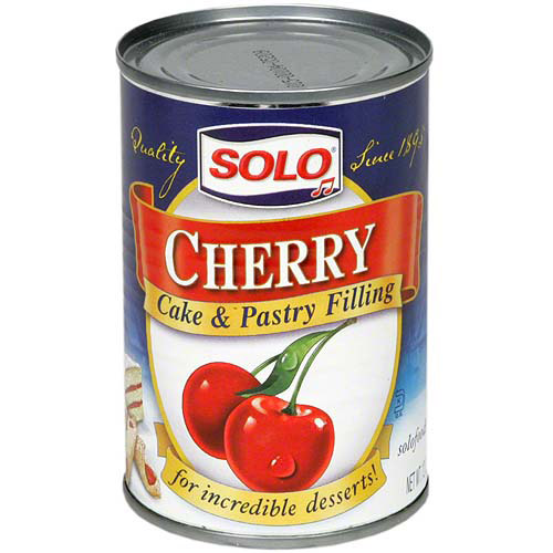 Solo Cherry Filling, 12 oz (Pack of 6)