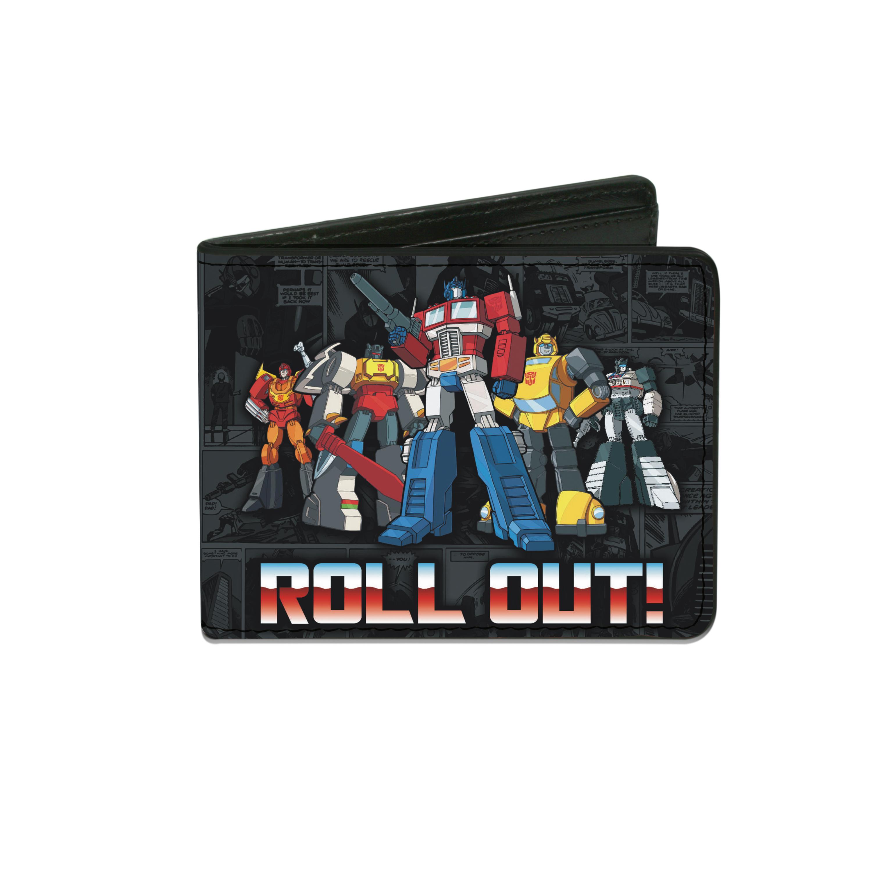 Buckle Down  Kids' Transformers Billfold Wallet
