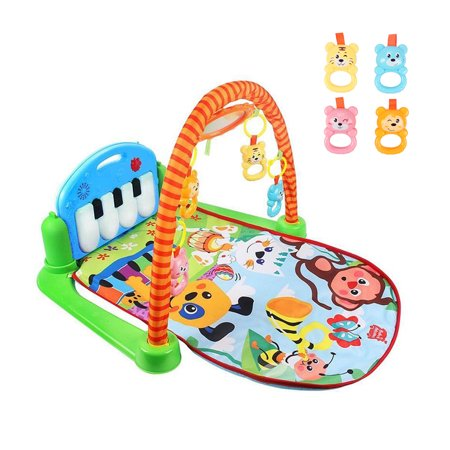 Meigar Baby Gyms And Playmats 3 In 1 Piano Musical Lullaby