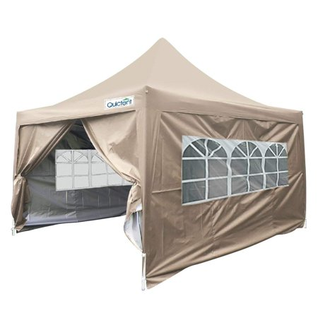 Quictent Silvox 10x10 Ez Pop Up Canopy Tent Instant Set Up