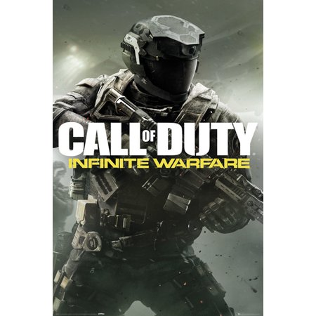 Call Of Duty  Infinite Warfare   Gaming Poster   Print  Game Cover 2   Size  24   X 36