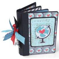 Sizzix ScoreBoards XL Die Book Passport by Eileen Hull