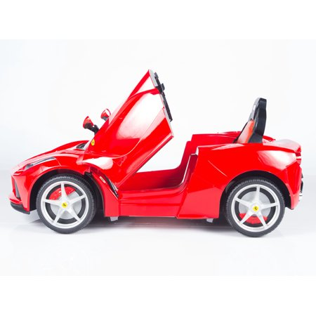 Exclusive Official 12V LaFerrari Kids Ride On Car with MP3, Lights, Doors and Remote Control - image 1 de 12