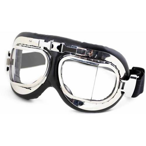 Motorcycle Goggle with UV 400 Protection and Adjustable Head Straps, Humvee, Comes in Multiple Colors