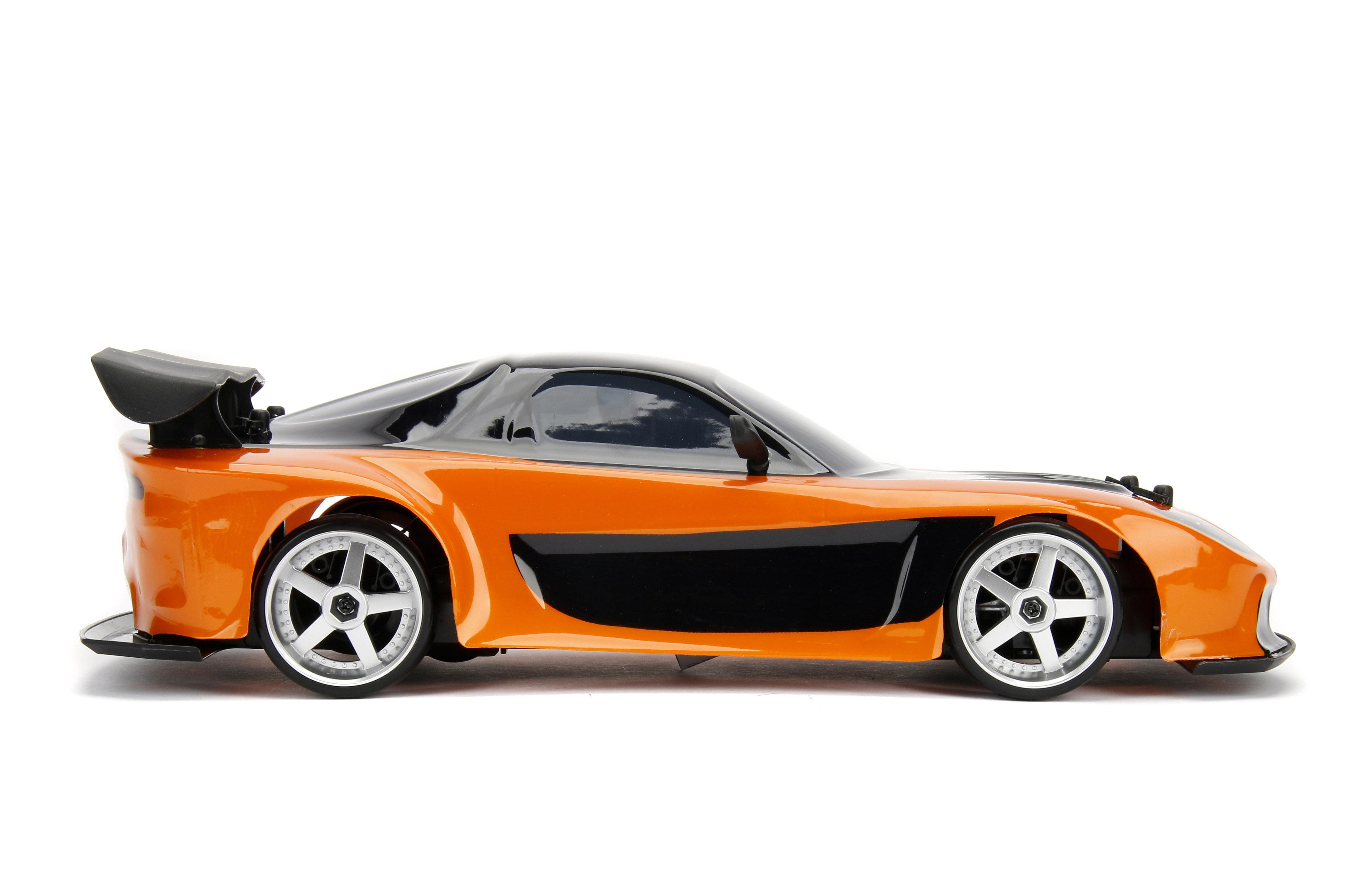 jada toys - fast furious 1:10 drift genuine remote r/c - mazda rx-7