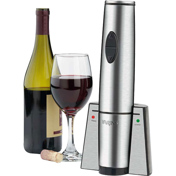 Waring Commercial Portable Electric Wine Bottle Opener