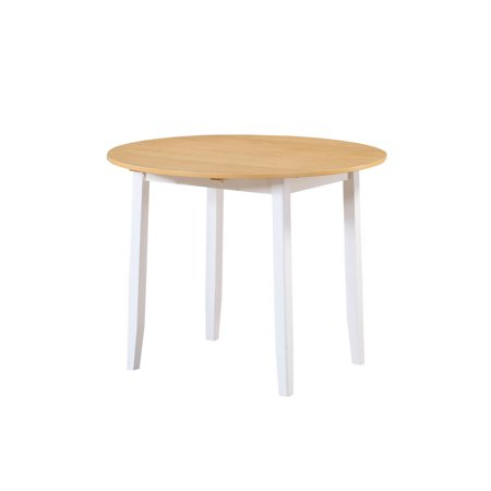 Mainstays Drop Leaf Round Dining Table ()