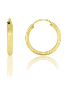 815659472 Product Image 14K Yellow Gold 12mm Endless Hoop Earrings