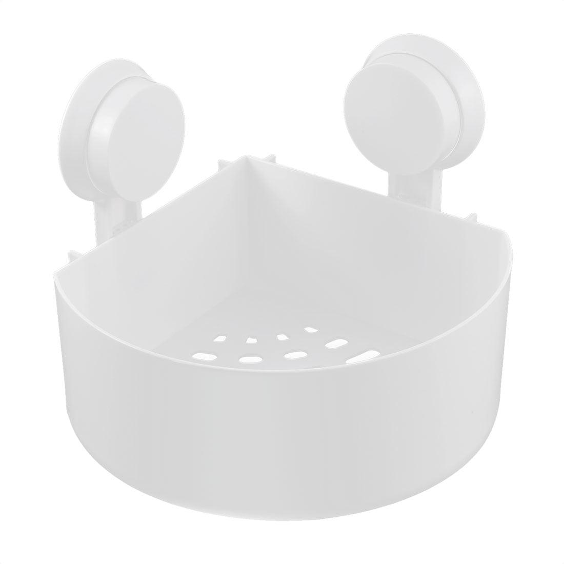 Bathroom Shower Mirror Suction Cup Corner Storage Rack