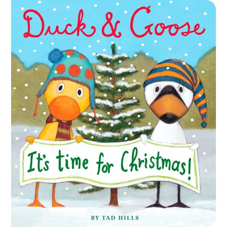 Duck & Goose, It's Time for Christmas! (Board - Time Ducky