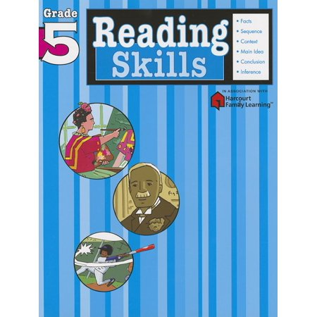 Reading Skills: Grade 5 (Flash Kids Harcourt Family