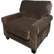 Serta Copenhagen Collection Arm Chair in Rye Brown