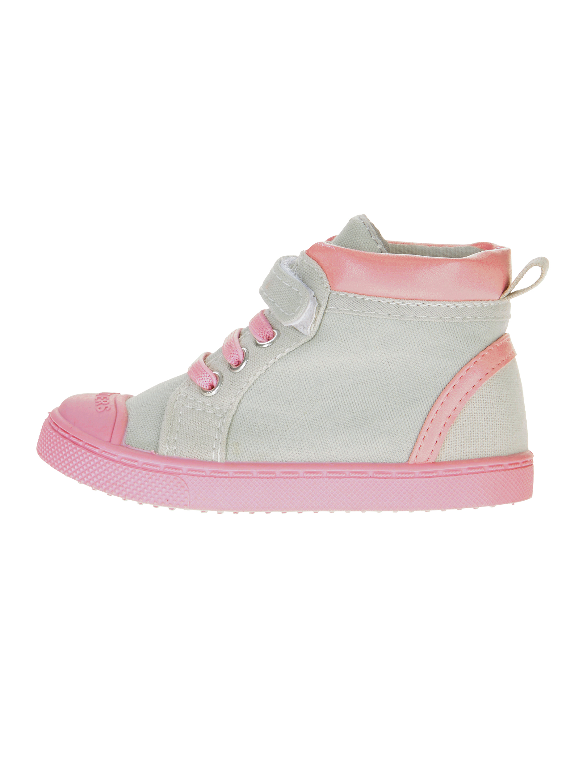 Skidders Baby Girls' Multi Closure High Top Casual Shoe