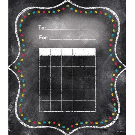 Charming Dots Student Incentive Chart, Black (1301), 36 sheets By Creative Teaching (Press Charm)