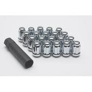 Gorilla Chrome 12 mm x 1.50 Thread Acorn S/D Wheel Lock 20 pc P/N 21133HT