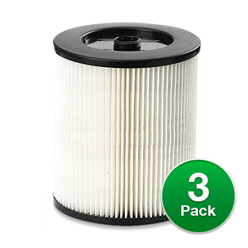 2 Pack Cartridge Filter for Shop Vac Craftsman 17816 9-17816 Wet//Dry Air Filter Replacement Part fit 5 Gallon /& Larger Vacuum Cleaner