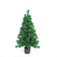 Product Image 2' Pre-Lit Color Changing Fiber Optic Artificial Christmas Tree - Multi Lights