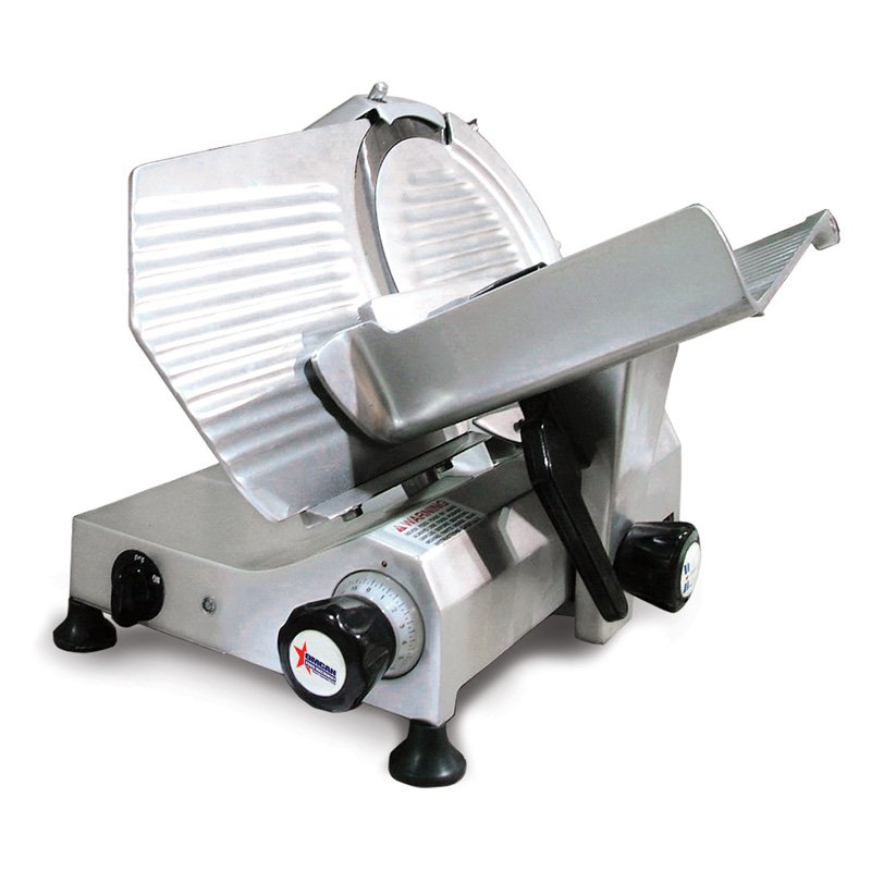 Omcan 300E 12 in. Commercial Food Slicer