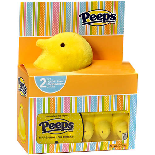 Peeps Yellow Chick House, 3 pc