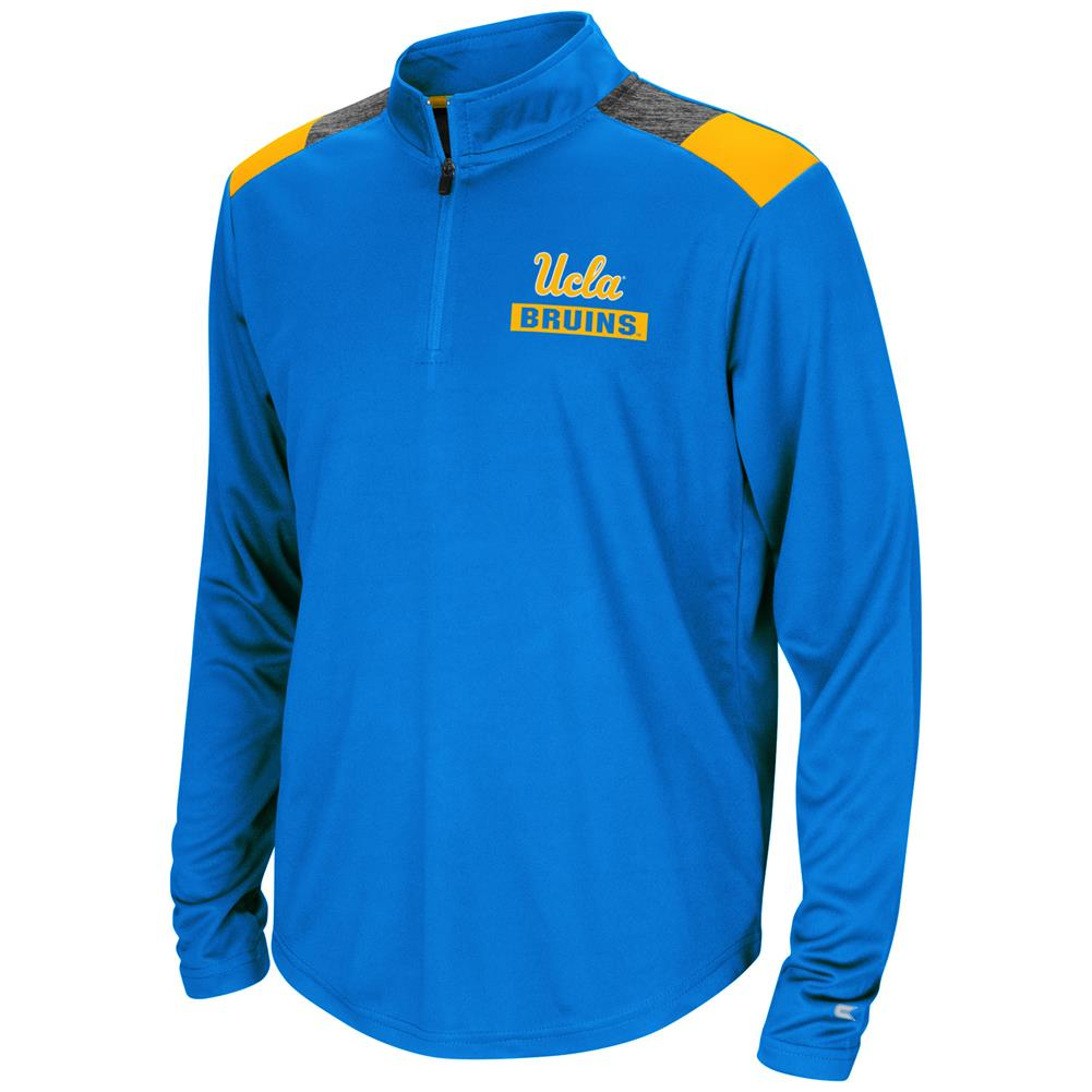 UCLA Bruins Youth Boys 1/4 Zip 99 Yards Pullover